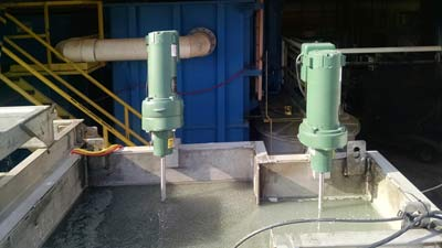 mixers for vertical plate clarifier