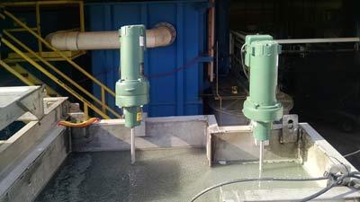 mixers for vertical plate clarifier