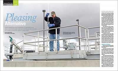 Monroe Environmental Clarifiers featured in TPO magazine