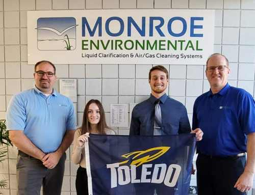 Monroe Environmental Supports Student Co-Op Program at University of Toledo