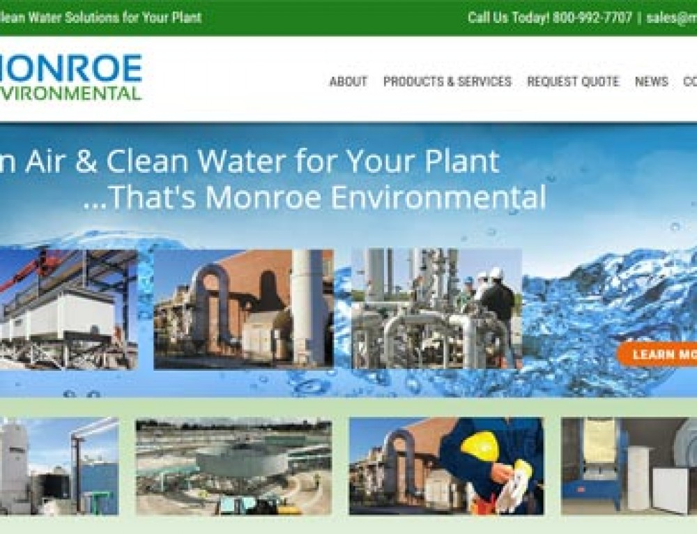 Monroe Environmental Launches Updated Website