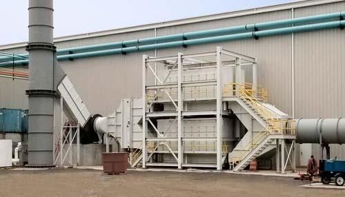 Multi-Stage Mist Collector for steel rolling mills