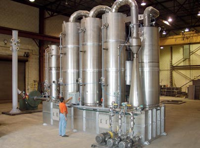 Multi-Stage Scrubbing System for toxic gas exhaust