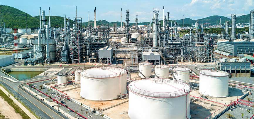 Air and water pollution control solutions for the chemical and petrochemical industries