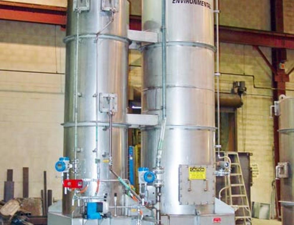 Sulfur Dioxide Scrubbing Using Caustic