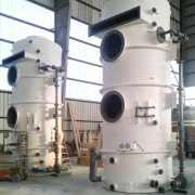 Packed Bed Scrubbers FRP in fabrication