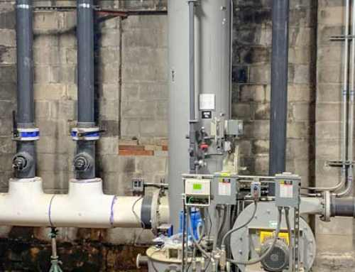 Monroe Packed Tower Scrubber Treats Leachate H2S Fumes