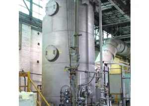 Wet Scrubber to treat nitric acid from dryer at a ceramics plant