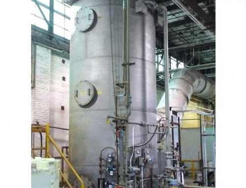 Wet Scrubber Treats Nitric Acid from Dryer at Ceramics Plant