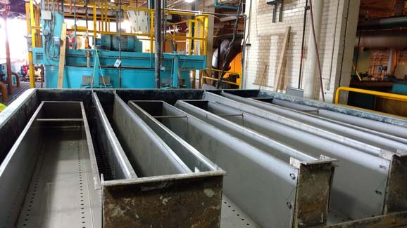 Rebuild of Inclined Plate Clarifier for Auto manufacturer