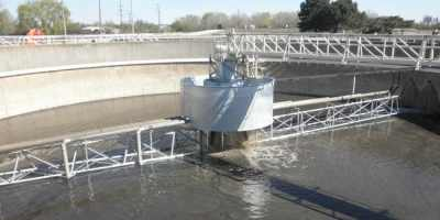 Secondary Clarifiers at WWTP