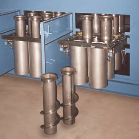 Spiral tubes for Oil Mist Collector