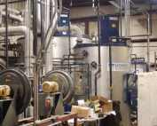 Galvanizing plant wastewater treatment upgrade