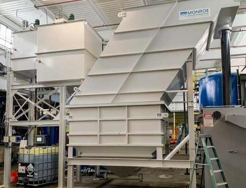 Vertical Plate Clarifier Removes Metals and TSS in PFAS Treatment Process