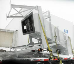 Refurbished Vertical Clarifier ready to leave Monroe facility