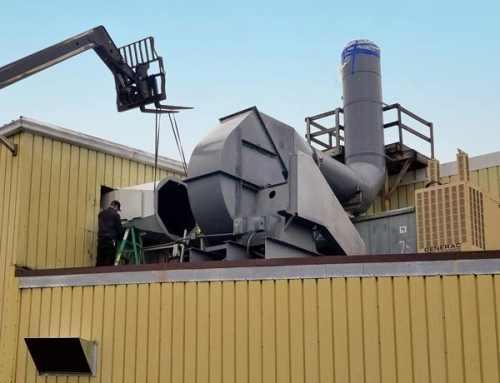Scrubber Rebuild Achieves Emission Compliance for Chrome Plating Plant